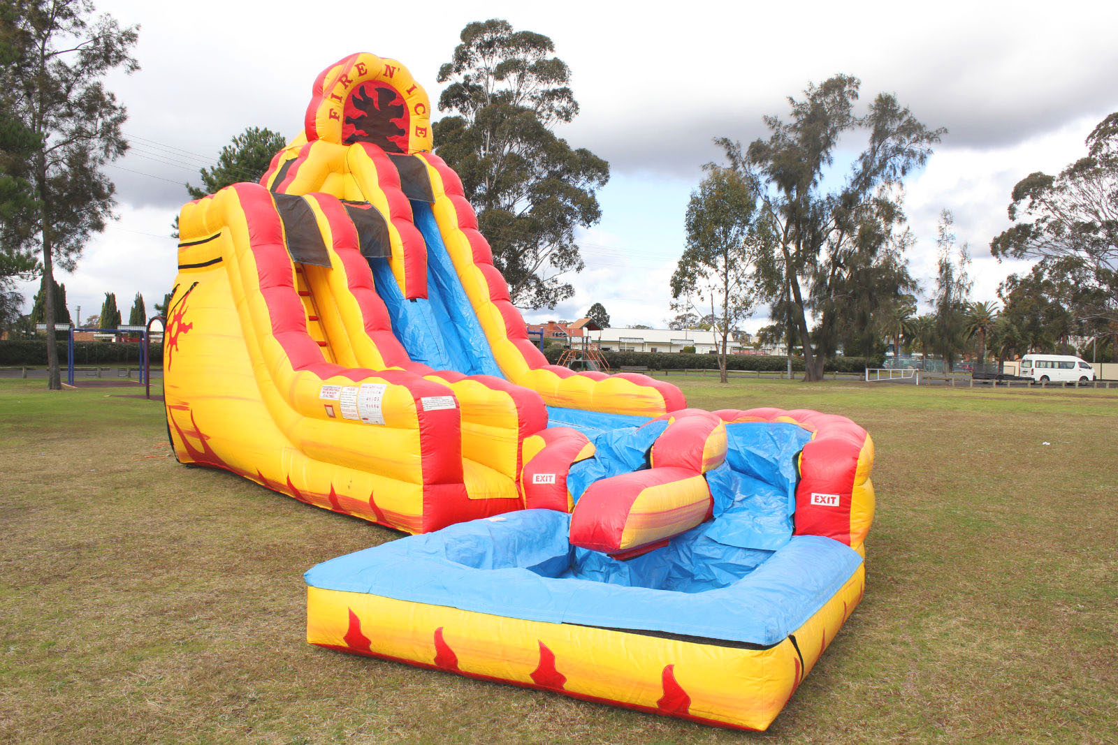 Inflatable Water Slides For Hire In Sydney Fire N Ice