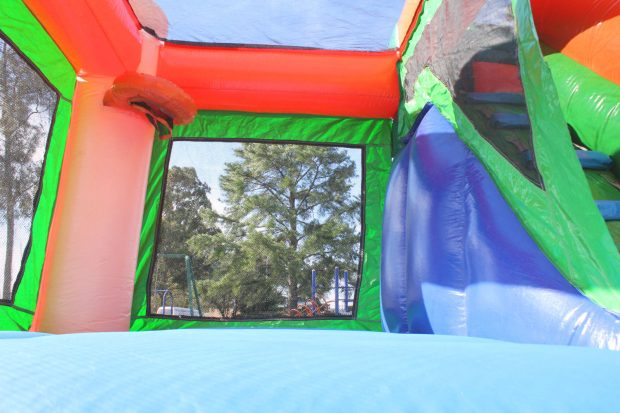 Jumping Castle Water Slide Small Jump N Splash