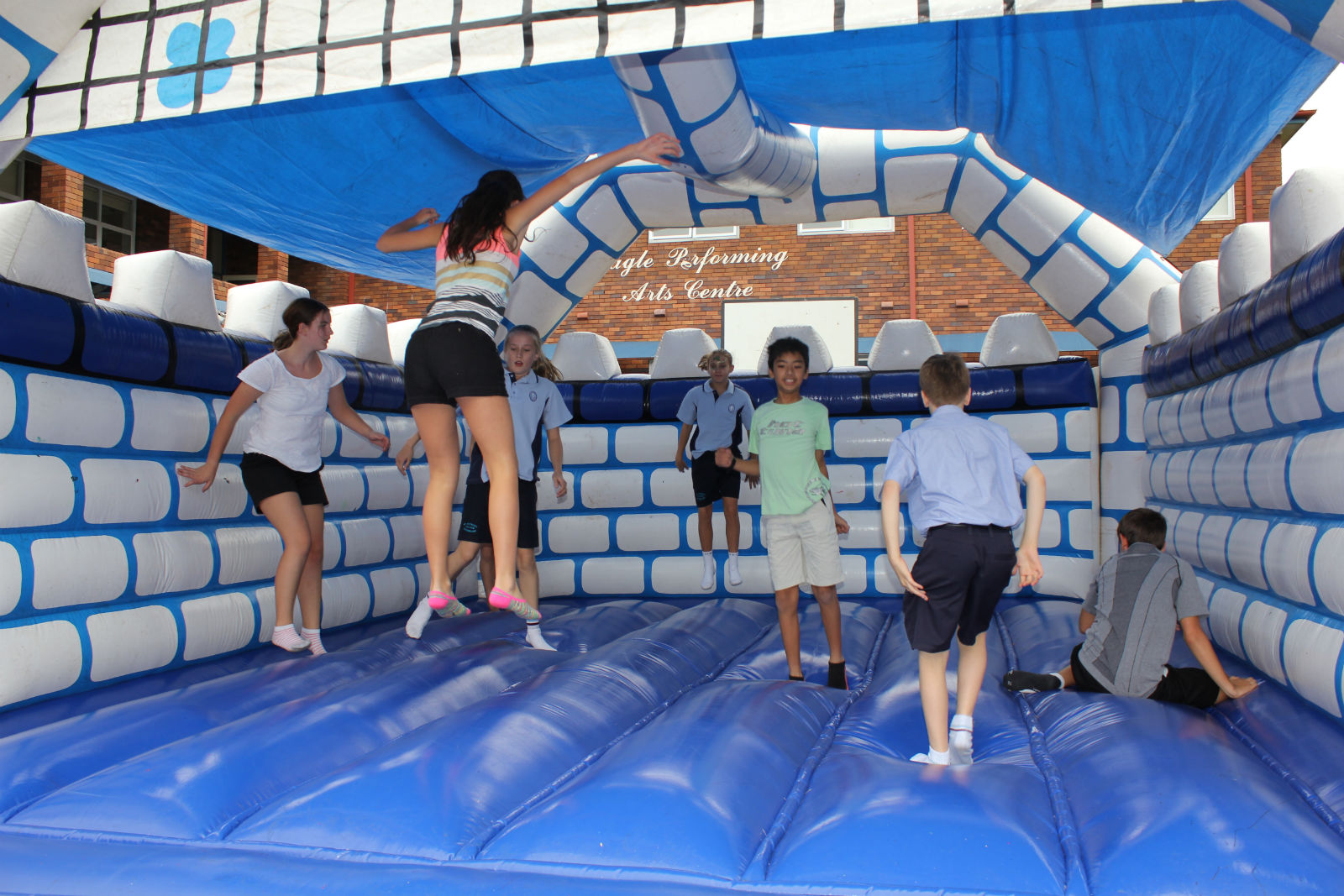 Large Jumping Castle Hire Sydney - Large Euro Bouncer