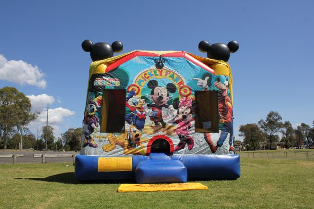 Mickey Mouse Jumping Castle Hire Sydney Mickey Fun Park