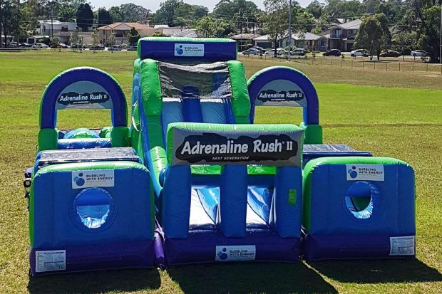 Inflatable obstacle course Sydney