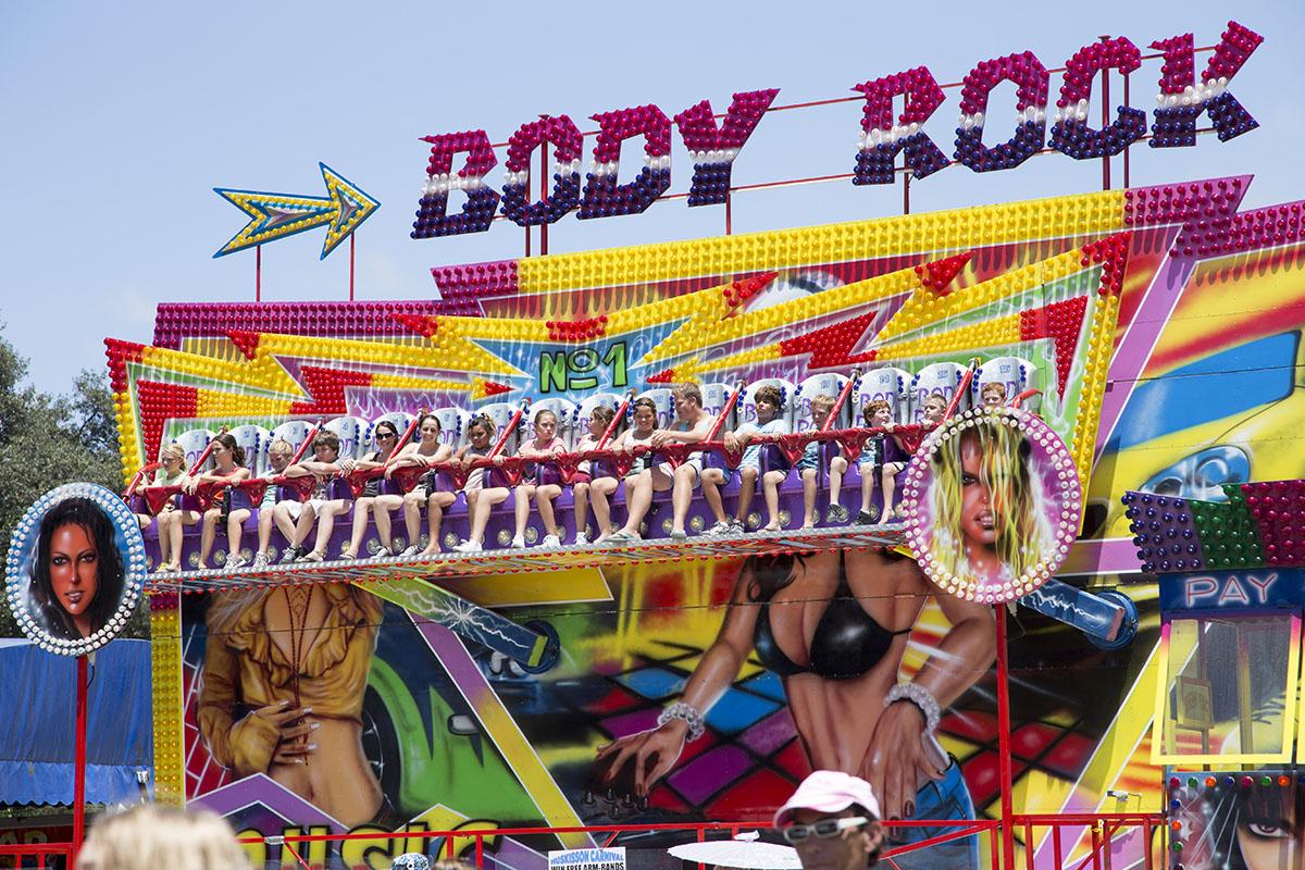 Body Rock Carnival Ride Hire In Sydney