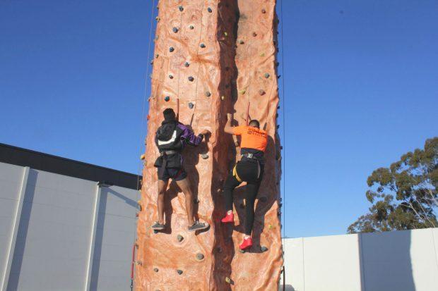 Rock climbing campbelltown