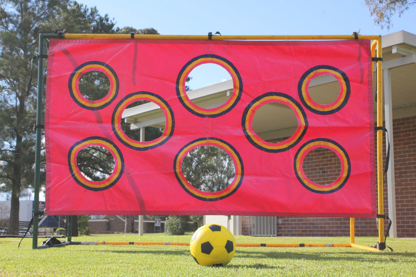 Footy Passing Game And Soccer Shoot Out Game For Hire In