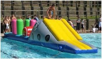 Pool Inflatables For Hire In Sydney Sea Scramble