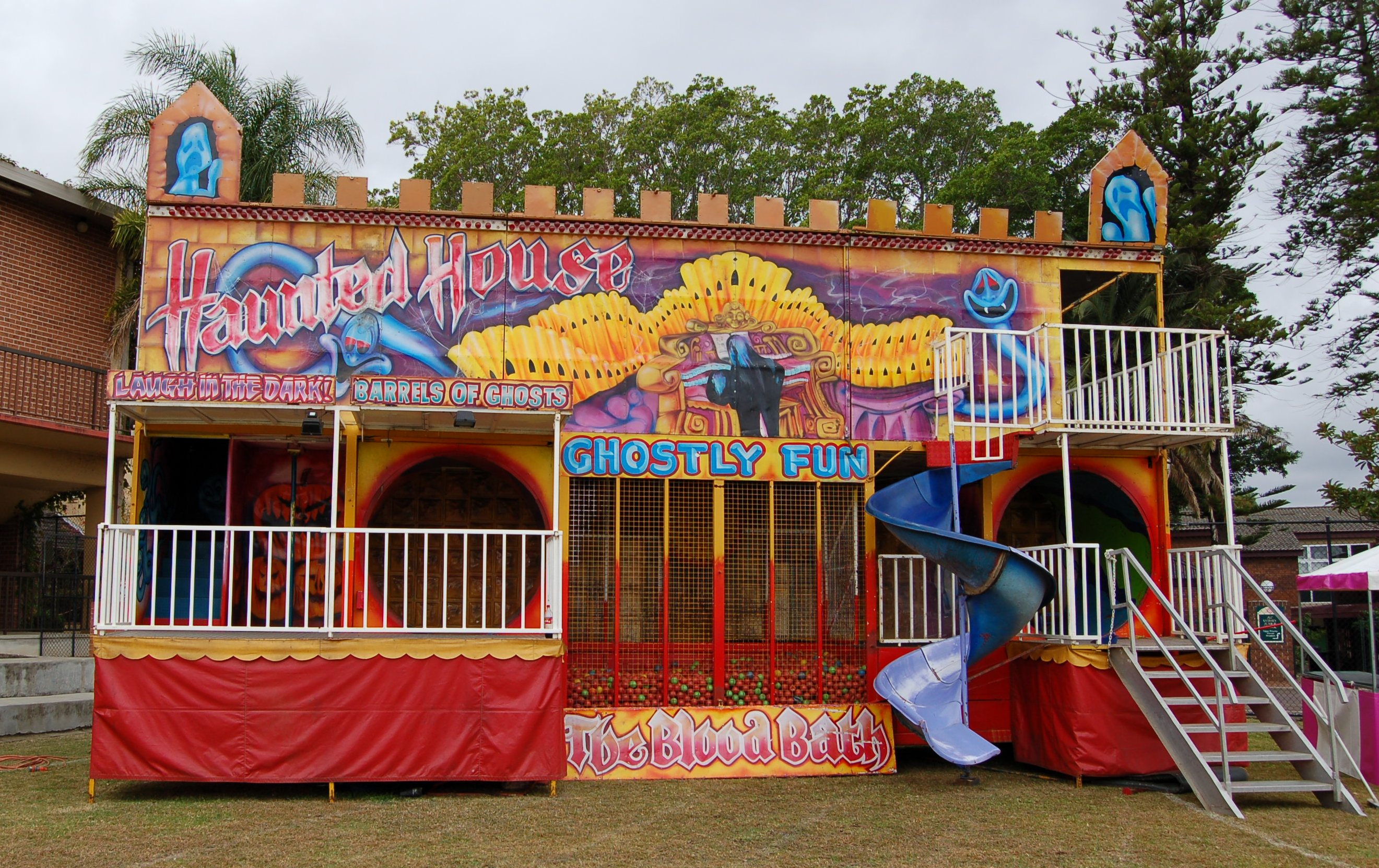 the haunted house carnival ride bring your next event to life