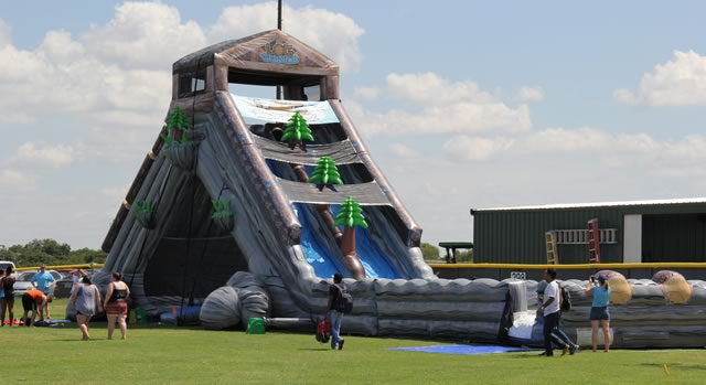 Inflatable Water Slide Hire Sydney The Log Jammer Extreme