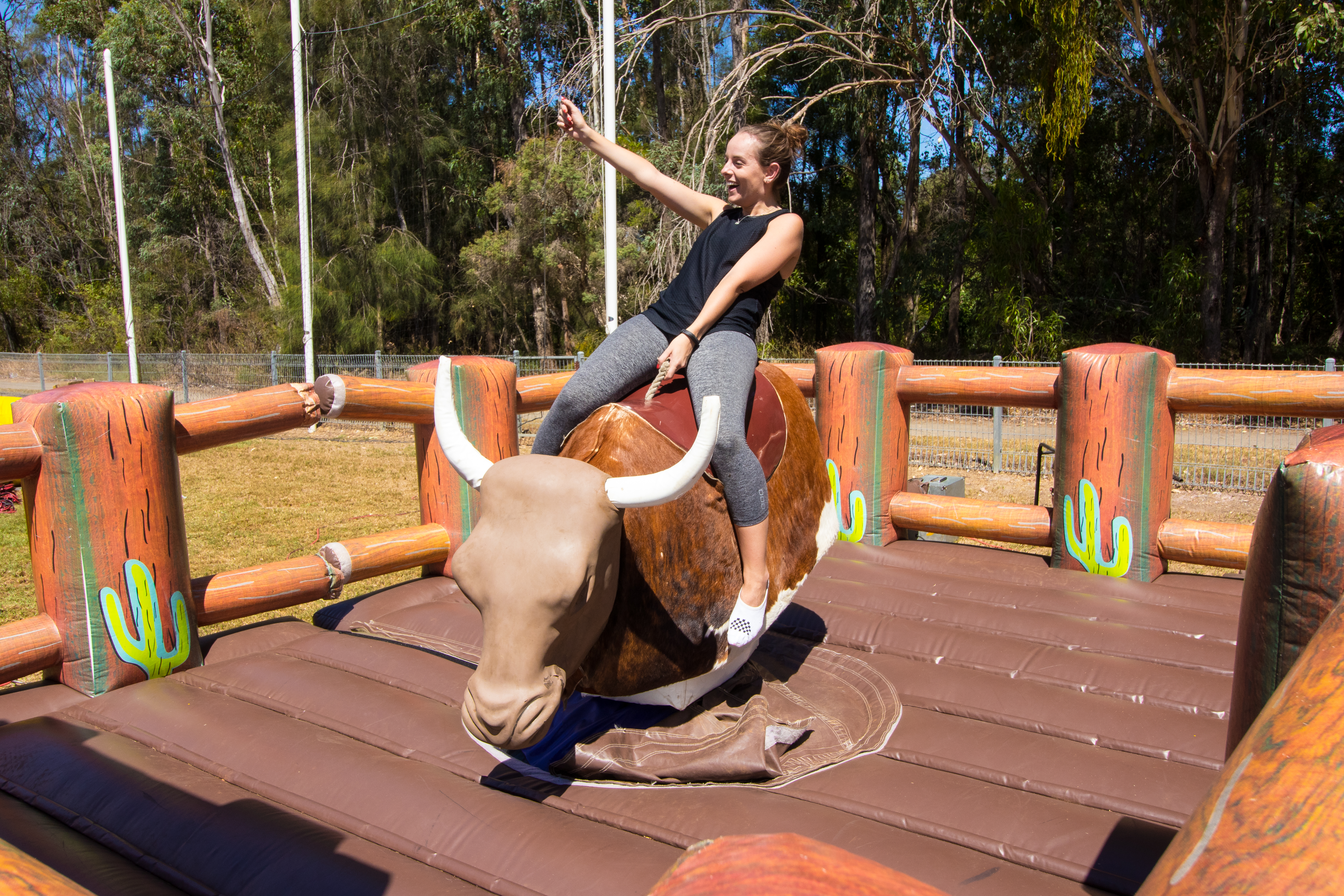 Mechanical Bull Ride for hire Sydney
