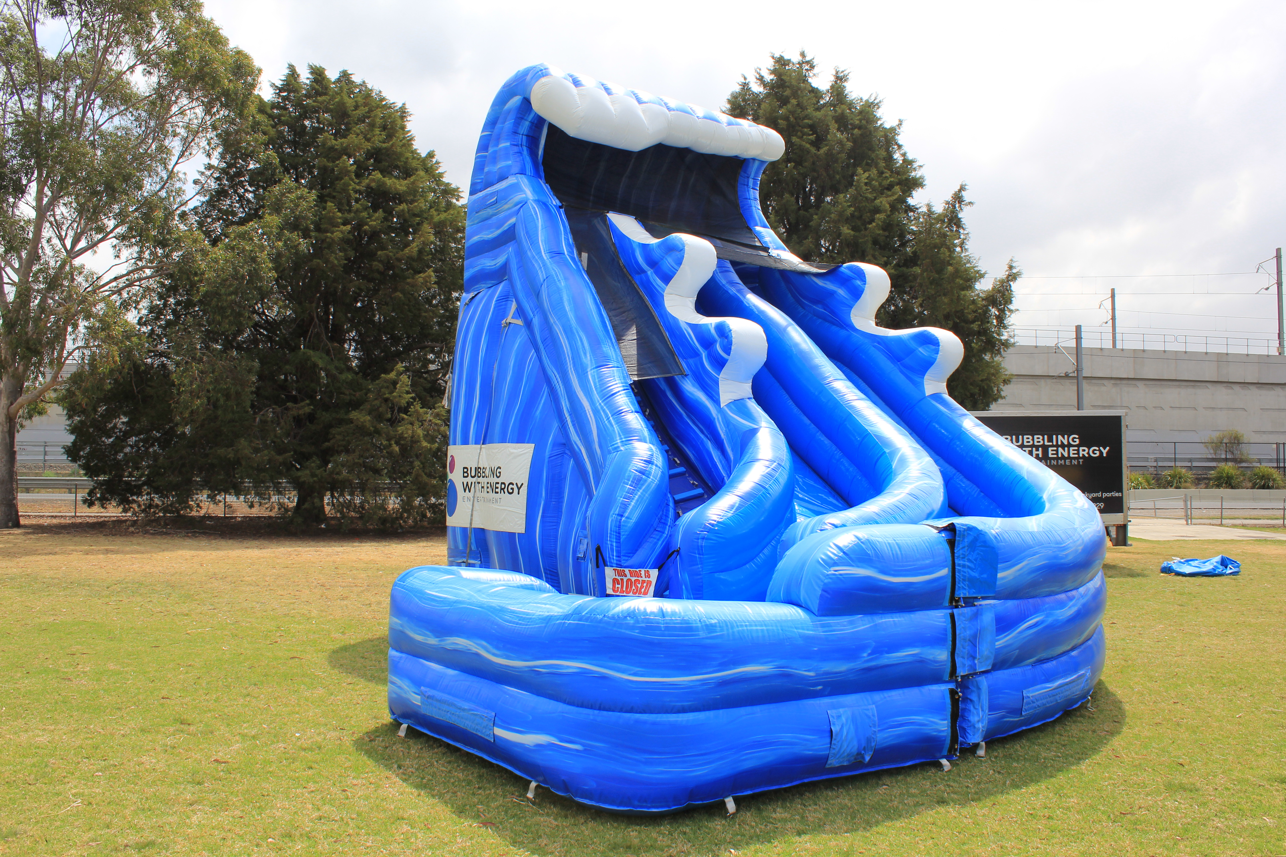 Wild Rapids Large Water Slide for hire Sydney